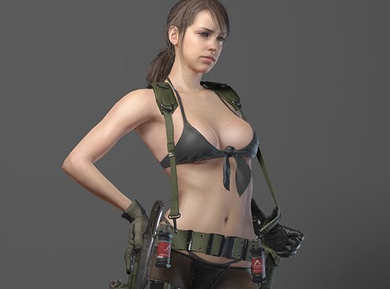 desinger_of_halo_have_critisized_new_quiet_outfit_in_metal_gear_solid_5