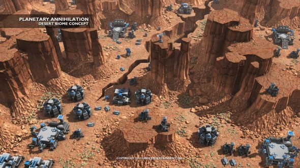 planetary_annihilation_appered_in_early_access_of_steam